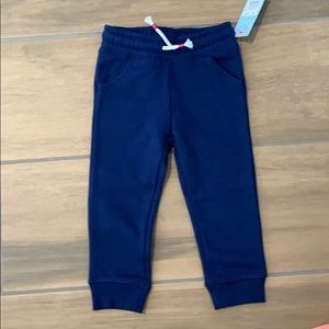 Navy blue Joggers with drawstring